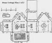 Putz House Pattern - Bing Images