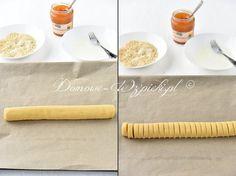 Ciasteczka morelowe - przepis Kugel, Rolling Pin, Rolls, Crispy Cookies, Almonds, Oven, Biscuits, Simple, Rezepte