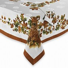 $40.00 - BB&B Harvest Turkey Damask Fabric Tablecloth Thanksgiving Table Cloth 60x84 Ob Harvest Turkey http://www.amazon.com/dp/B00B6FJYLY/ref=cm_sw_r_pi_dp_Yl6Zvb1574XM8