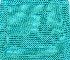 Knitting Cloth Pattern FISHING BOAT PDF by ezcareknits on Etsy, $2.85
