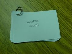 Anecdotal records-maybe even add sticky notes-can also use file folder w/index cards on it Classroom Management Tips, Organization And Management, Classroom Organization, Classroom Decor, Organization Ideas, Anecdotal Records, Anecdotal Notes, Teaching Strategies Gold, Teaching Ideas