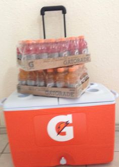 One of the best Freebies of the year so far!  2 Cases of Gatorade and a HUGE Rubbermaid cooler. Follow our blog for the latest promo codes, coupons, giveaways, and freebies. #gatorade #summertime