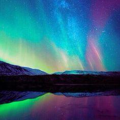 Aurora Australis, the Southern Lights over Australia #Padgram
