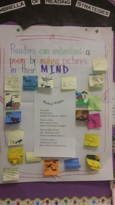 visualizing poetry...add to morning work station for reading