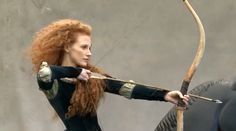 VIDEO: Disney Dream Portraits by Annie Leibovitz – Behind the Scenes with Jessica Chastain as Merida
