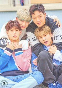 Jooheon, Wonho, Shownu and I.M - Monsta X