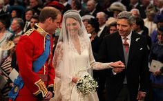 Prince William, Kate and Michael Middleton