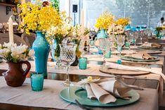 Decoração de Casamento: Azul e Amarelo (06/03/2013) - Uberlândia - Artigos e Dicas - SeuEvento.Net