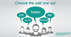 Can you choose the odd one?  a) HP-UX b) AIX c) OSX d) Slackware e) Solaris #operatingsystems