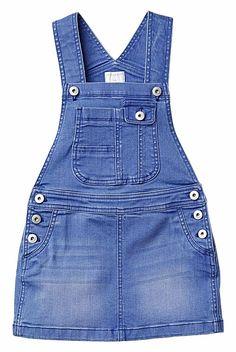 Denim Pinafore Denim Fashion, Kids Fashion, Fashion Outfits, Women's Fashion, Baby Girl Jeans, Denim Pinafore, Kids Frocks, Jeans Denim, Cute Outfits For Kids