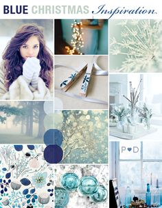 Deck the Halls: {A Blue Christmas Inspired Mood Board} Christmas To Do List, Christmas Mood, Blue Christmas, Little Christmas, Christmas Wishes, Christmas Colors, Christmas Themes, Christmas Crafts, Christmas Decorations
