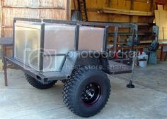 Atv Trailers, Adventure Trailers, Best Trailers, Adventure Camp, Trailer Tent, Off Road Trailer, Trailer Build, Expedition Trailer, Overland Trailer