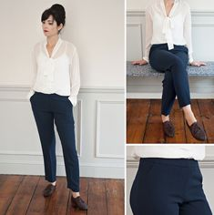 NEW CLASS ALERT! Introducting... the Sew Over It Cigarette Pants