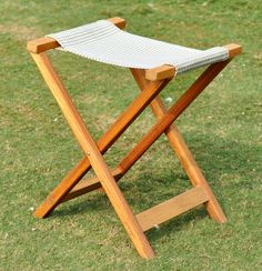 Outdoor portable fold able stool Wishbone Chair, Stool, Outdoor Furniture, Home Decor, Chairs, Decoration Home, Room Decor, Stools, Chair