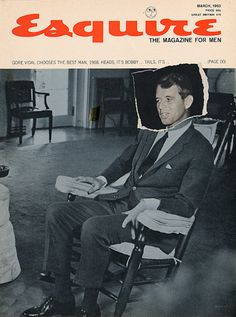 Esquire RFK cover, March 1963. Click for more of Esquire's Kennedy covers