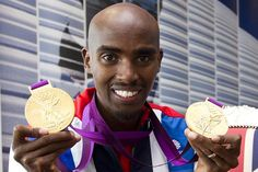 Mo Farah wins gold for #TeamGB! #Olympics