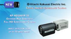 Amazing New Hitachi Full HD Surveillance Camera Video Security