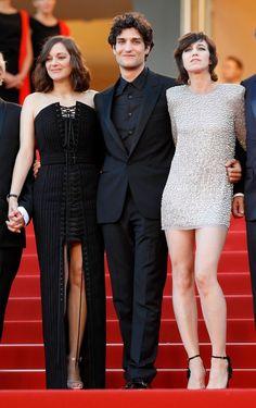 Marion Cotillard, Louis Garrel en Charlotte Gainsbourg