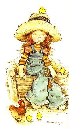 Sarah Kay à la ferme