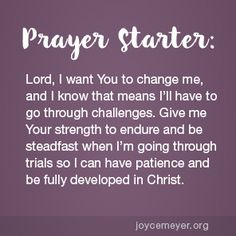 Daily Devo: You Must Develop Patience
