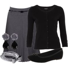 """""""Teacher Outfits on a Teacher's Budget 47"""" by allij28 on Polyvore"""