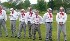 Der Dutchman Long Johns take the starch out of the Ohio Village Muffins, 8-1 (Heritage Days baseball, May 2013)