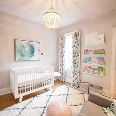 fun, feminine and fresh as a daisy!!  | #babyletto Hudson crib | designed by Heather | The Decor Fix | : mama Melissa Williams.roberts