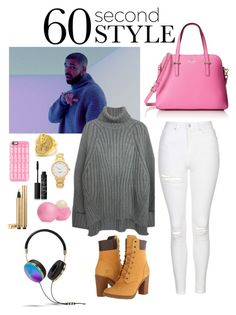 """Hotline Bling"" by sisi-anna ❤ liked on Polyvore featuring Kate Spade, Drakes London, King Ice, Topshop, Timberland, Casetify, Eos, NARS Cosmetics, Yves Saint Laurent and Frends"