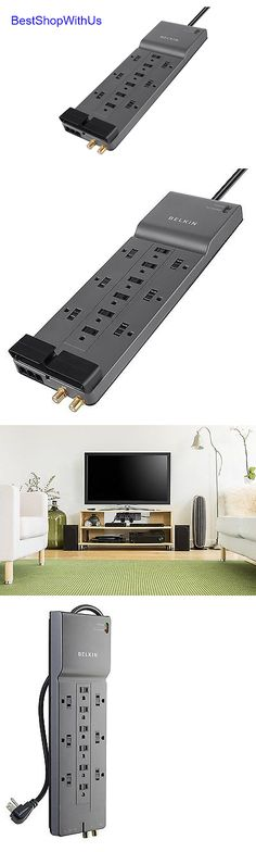 Surge Protectors Power Strips: Power-Strip-Surge-Protector-Be112230-08-12-Outlet--Belkin-Batteries-Electronics. BUY IT NOW ONLY: $33.95
