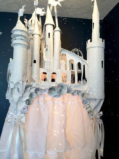 Castle on a Cloud Canopy on Etsy, $1,200.00