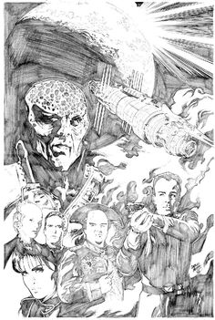 Babylon 5 by CarlosMota.deviantart.com on @deviantART