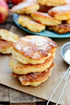 If you love your crumpets then you'll want to join (and devour) these gallivanting stacks. Profiteroles, Flan, Biscuits, Polish Recipes, Pumpkin Cheesecake, Let Them Eat Cake, Baked Goods, Cravings, Breakfast Recipes