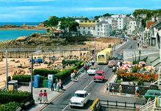 Photo of Havre des Pas, St Helier, Jersey, Channel islands, UK in the Saint Helier, Jersey Channel Islands, Le Havre, East Sussex, Brighton, United Kingdom, 1960s, Dolores Park, England