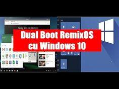 Instalare RemixOS în dual boot cu Windows 10