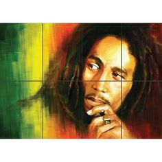 This high-quality multi-panel poster is printed onto quality 250 gsm thick satin paper. Giant Wall Art, Rasta Colors, Poster Prints, Art Posters, Bob Marley, Living Room Decor, Singer, Painting, Ebay