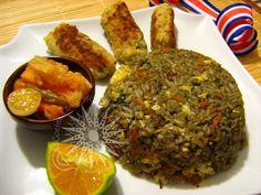Costa Rican Food, Cooking Tips, Cooking Recipes, Comida Latina, Latin Food, Spanish Food, Fried Rice, Meal Prep, Good Food