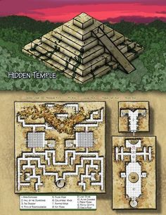 Fantasy Cartography by Sean Macdonald Más Fantasy Map, Fantasy World, Dark Fantasy, Dark Sun, Pathfinder Maps, Building Map, Rpg Map, Dungeon Maps, Dungeon Tiles