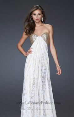 La Femme 15991 Dress