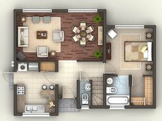 My home plans. Apartment Plans, Apartment Design, Tiny Spaces, Small Apartments, Small House Plans, House Floor Plans, Modern Floor Plans, Floor Plan Layout, Weekend House