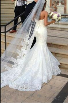 Enzoani gown. So elegant