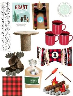 This lumberjack first birthday party is filled with flannel accessories and adorable details to help your little man feel extra special for on his first birthday. Celebrate the milestone in festive, fall style with this creative party theme.