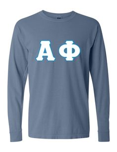 Who doesn't LOVE comfort colors long sleeve shirts? Shirt Sleeves, Long Sleeve Shirts, Custom Greek Apparel, Greek Clothing, Comfort Colors, Graphic Sweatshirt, Sweatshirts, Sweaters, Fashion