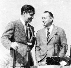 Clark Gable and John Barrymore