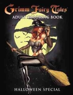 Following up the hugely popular, and best-selling, Grimm Fairy Tales and Alice in Wonderland coloring books from Zenescope Entertainment, comes this terrifyingly awesome Grimm Fairy Tales coloring boo