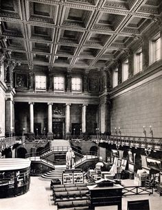 Great Hall at Euston Station in 1914, London