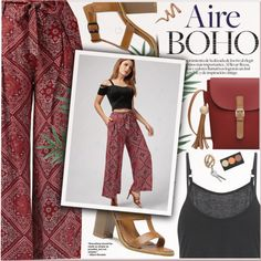 Aire boho by yexyka on Polyvore featuring мода