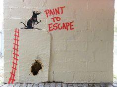 """Banksy """"Paint to Escape"""""""