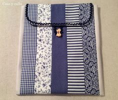 Cose y calla : . Nook Cover, Sewing Projects, Projects To Try, Kindle Case, Bazaar Ideas, Ipad Case, Laptop Case, Laptop Sleeves, Quilt Patterns
