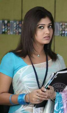 Nayanatara Beautiful Girl Photo, Beautiful Girl Indian, Most Beautiful Indian Actress, Beautiful Saree, Cute Beauty, Beauty Full Girl, Beauty Women, Beautiful Bollywood Actress, Beautiful Actresses