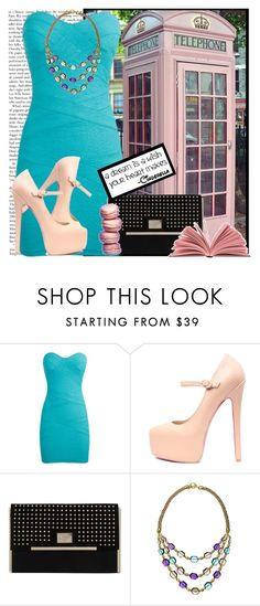 """""""Mordern Cinderella"""" by karineminzonwilson ❤ liked on Polyvore featuring TALLY WEiJL, Dorothy Perkins and Carolee"""